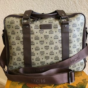 Authentic MCM Mable Document Bag